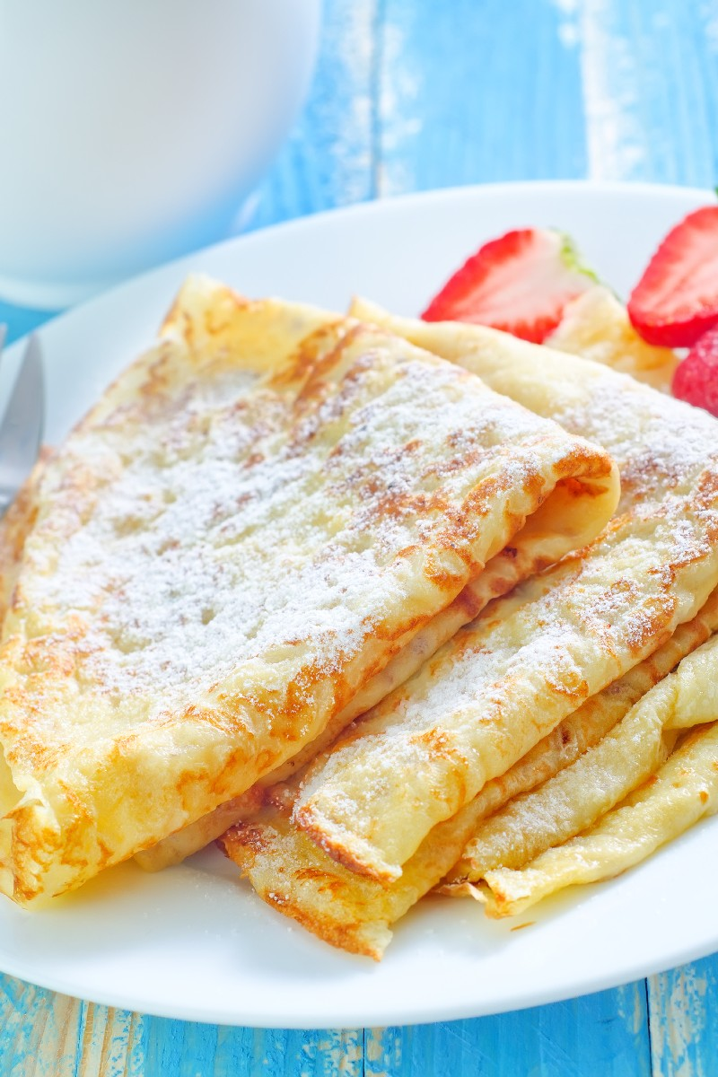 Basic Crepes Recipe — Dishmaps