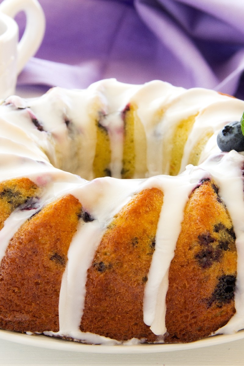 Blueberry Pound Cake Kitchme