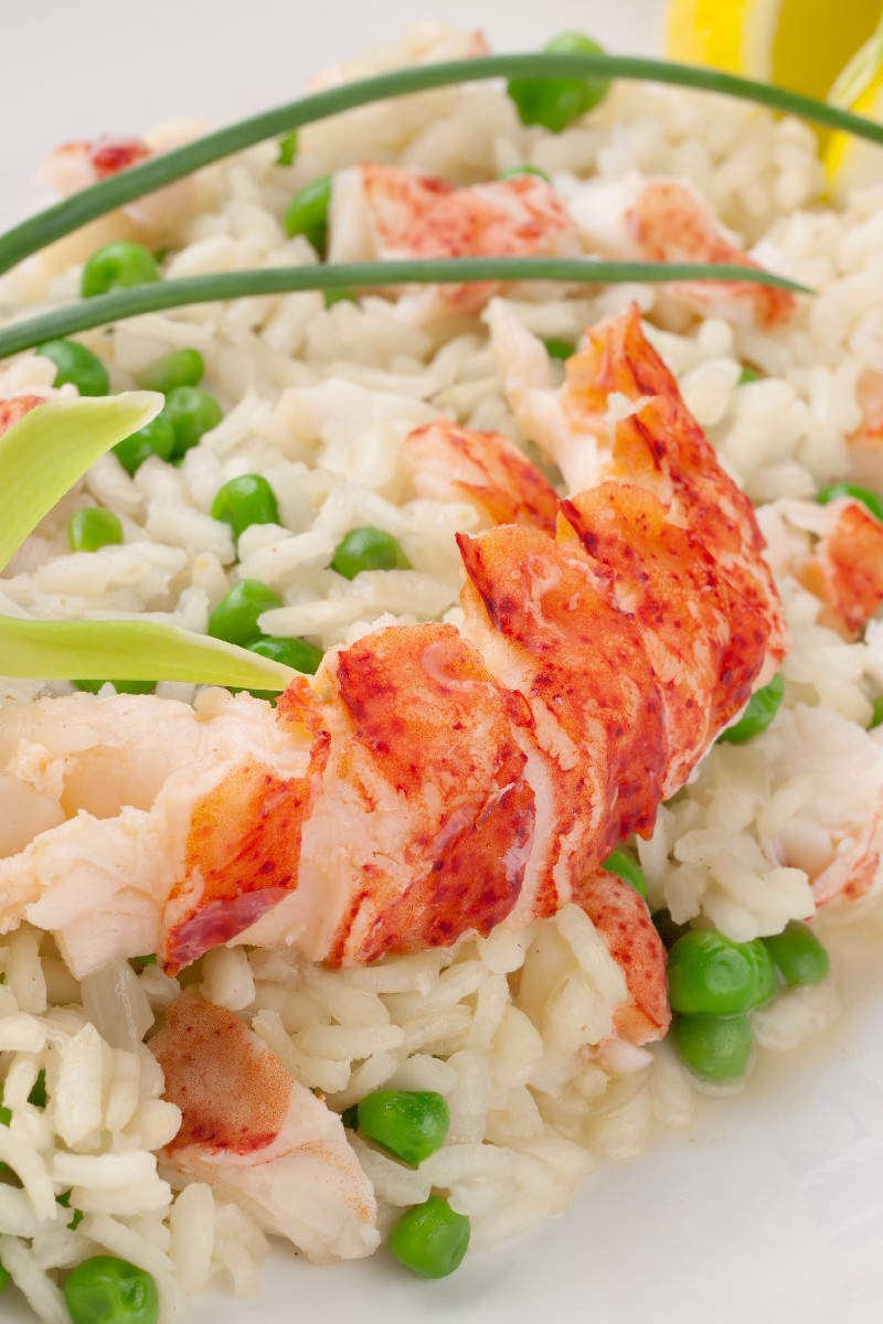 Brown Butter Risotto with Lobster | KitchMe