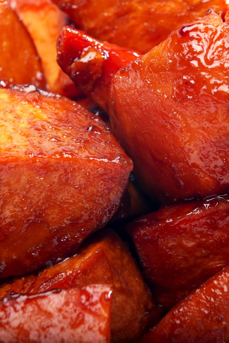 Brown Sugar and Maple Glazed Sweet Potatoes | KitchMe