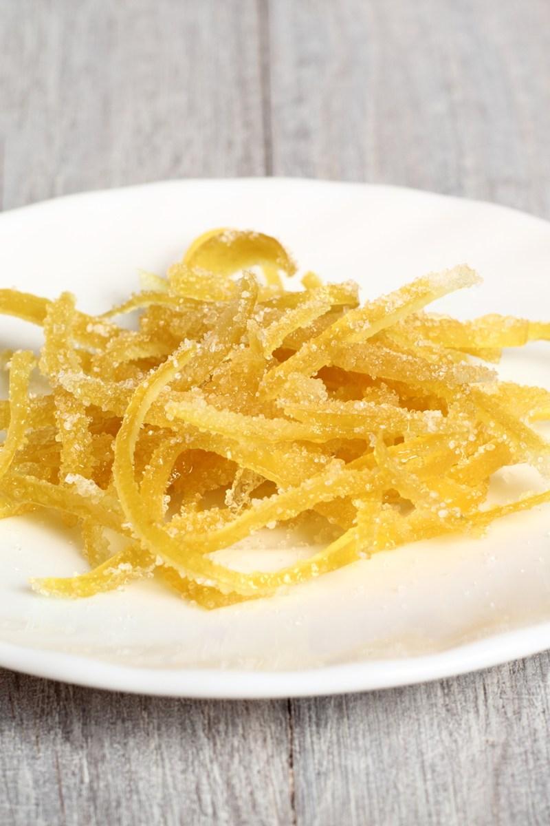 Candied Lemon Peel Kitchme