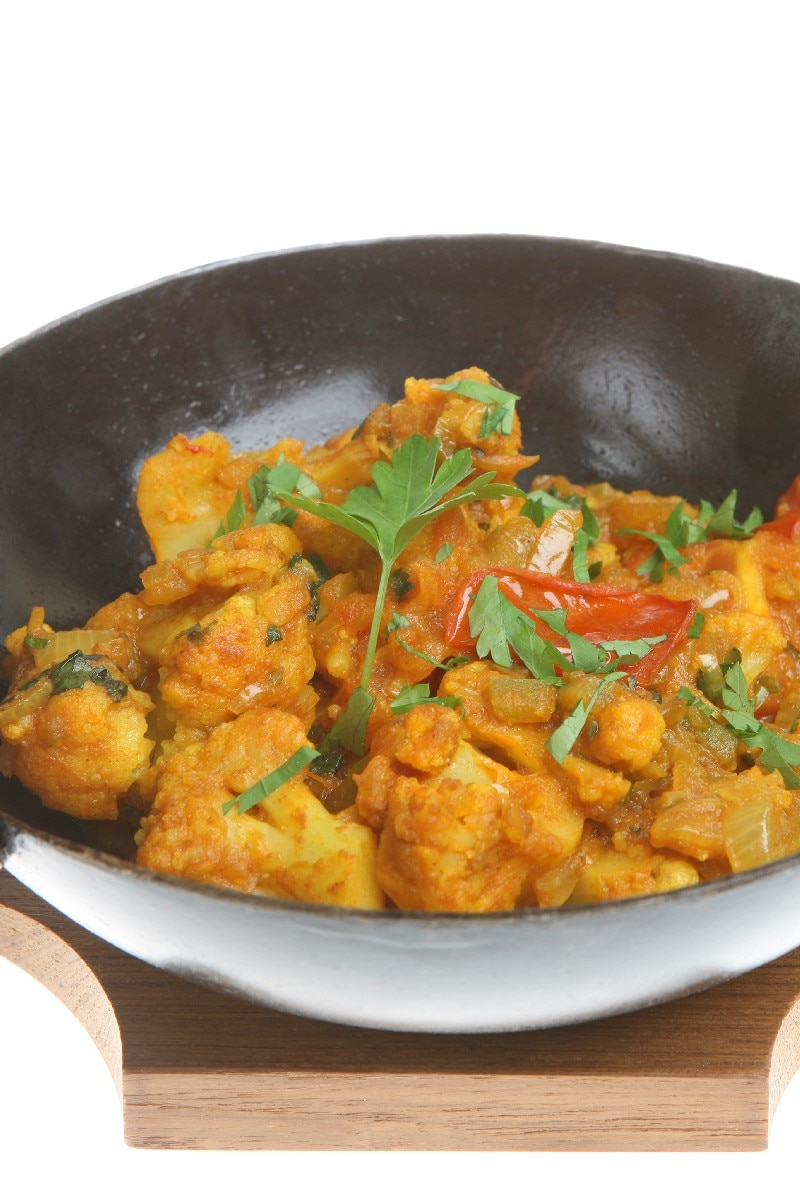 "Cauliflower and Potatoes: ""Aloo Gobi"" | KitchMe"