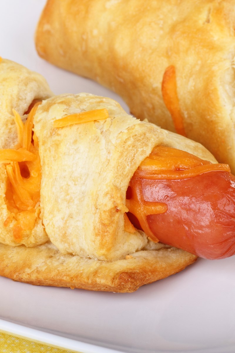 Crescent Roll Hot Dog Cheese Recipes