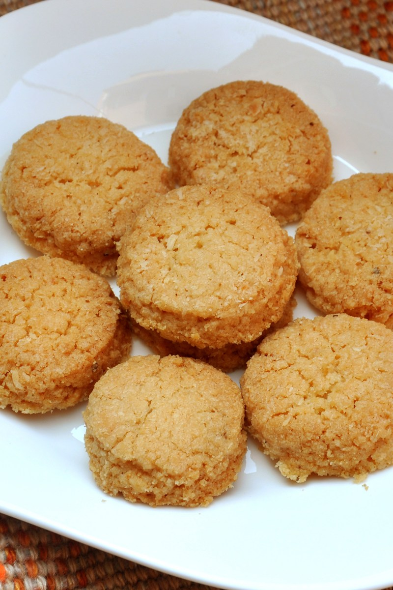 Chewy Coconut Cookies | KitchMe