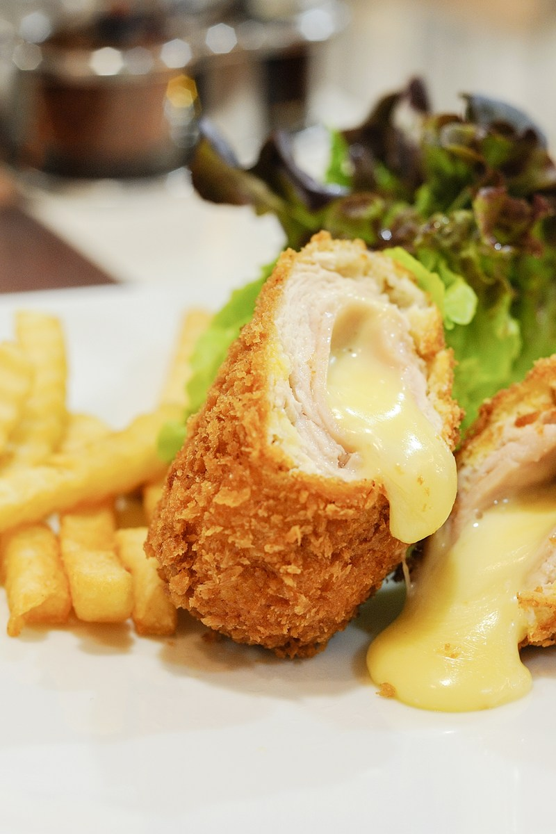 Chicken Cordon Bleu II Recipe — Dishmaps
