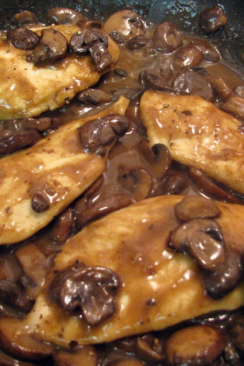 Chicken Marsala - Weight Watchers (7 Points) | KitchMe
