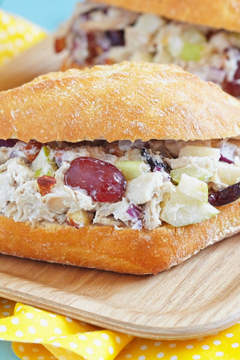 Chicken Salad With Apples And Grapes Kitchme