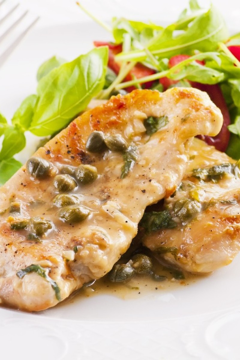 Luscious Low-Fat Chicken Scaloppine With Lemon Glaze | KitchMe