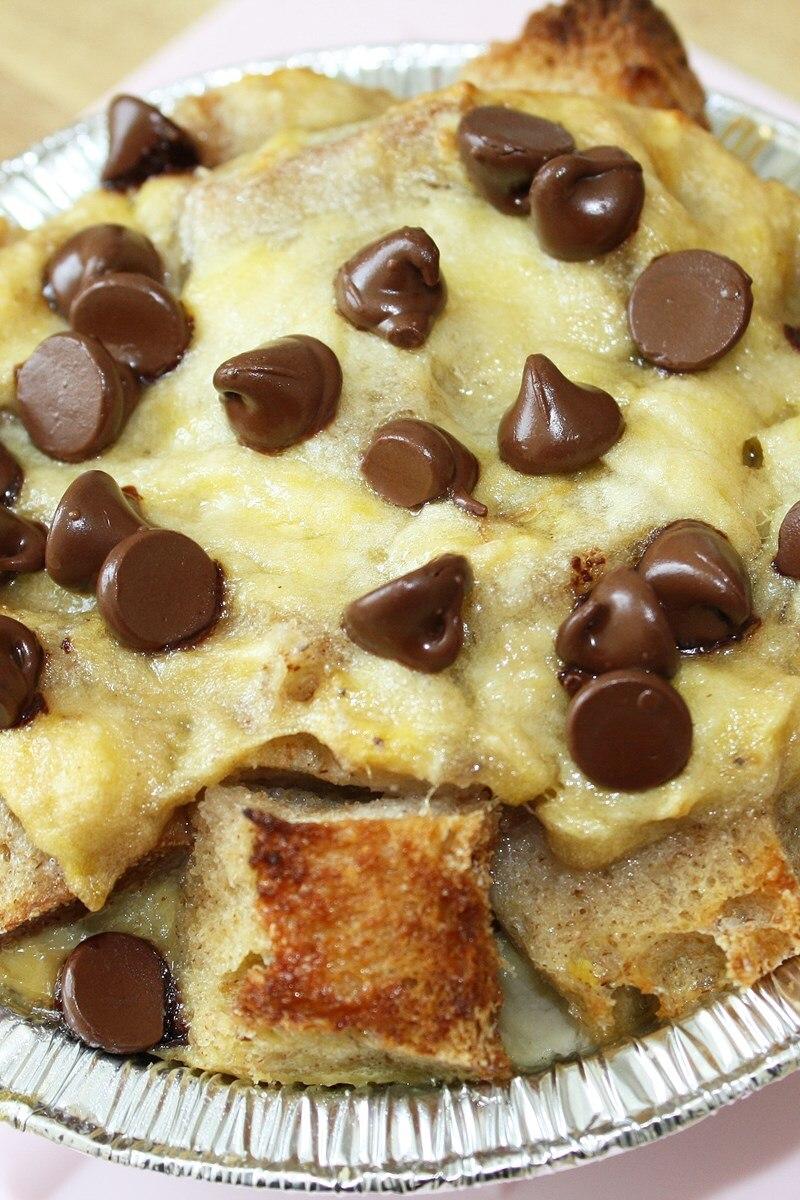 Chocolate Banana Bread Pudding Kitchme