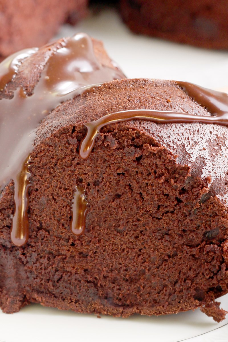 Chocolate Bundt Cake With Instant Pudding
