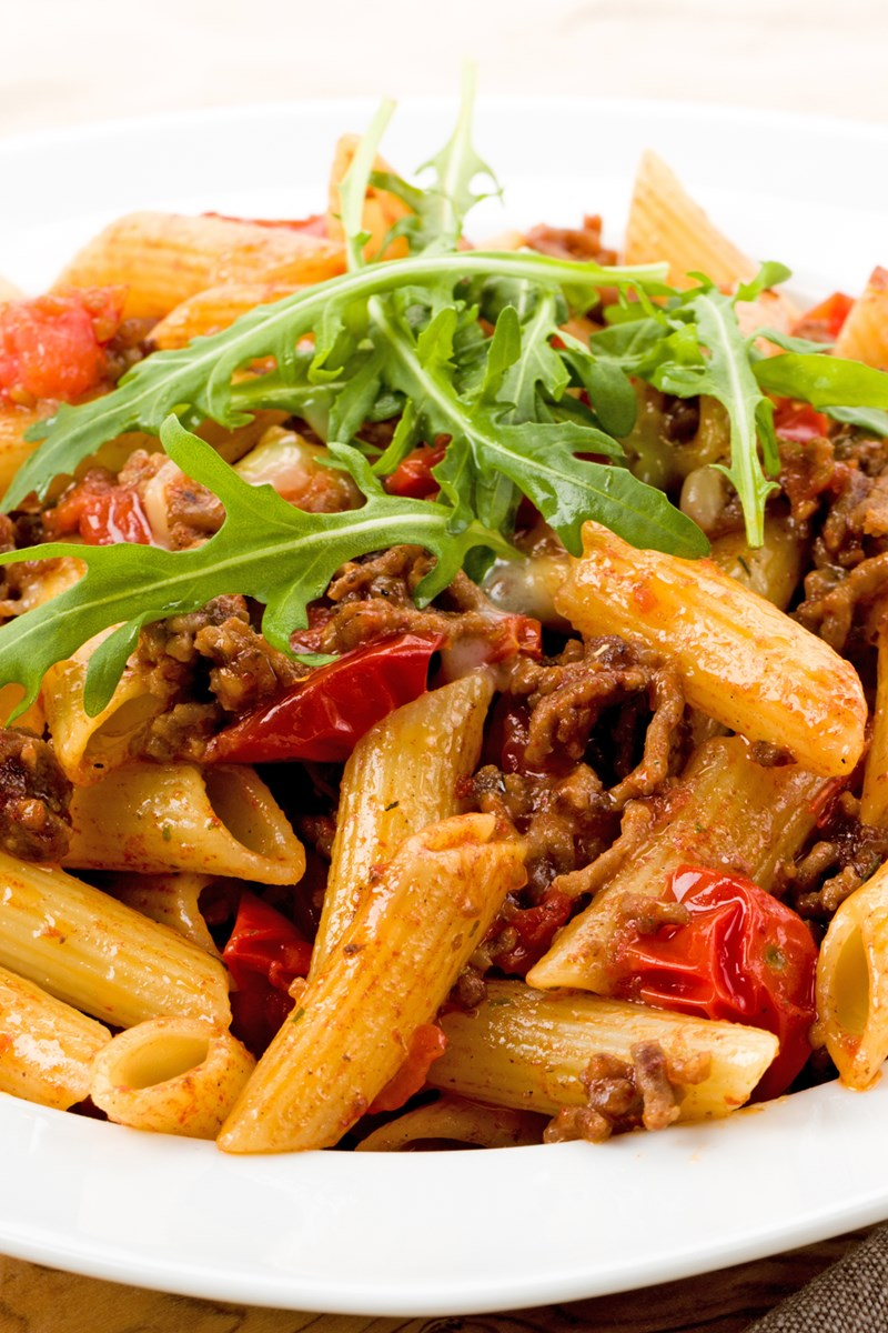 christmas pasta with meat sauce kitchme