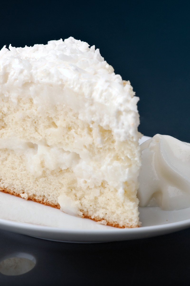 old fashioned coconut cake kitchme