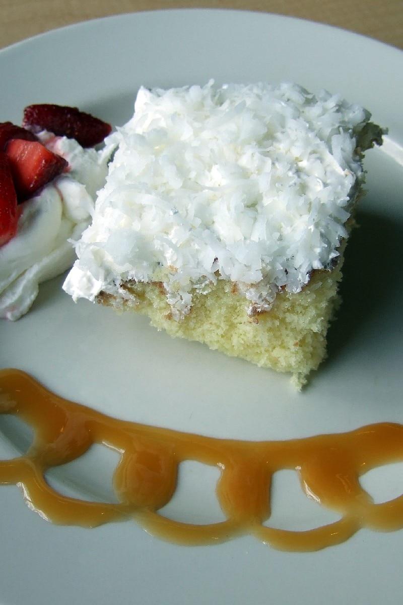 Coconut Milk Recipe With White Cake Mix