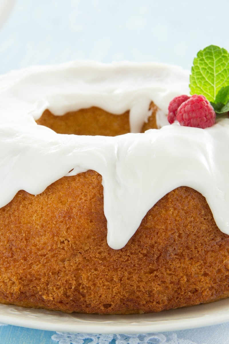 Cream Cheese Pound Cake Kitchme
