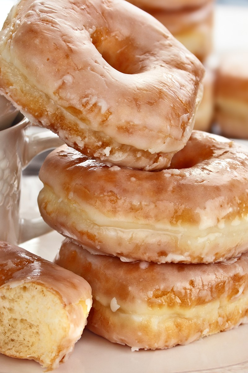 Crispy And Creamy Doughnuts Recipe — Dishmaps