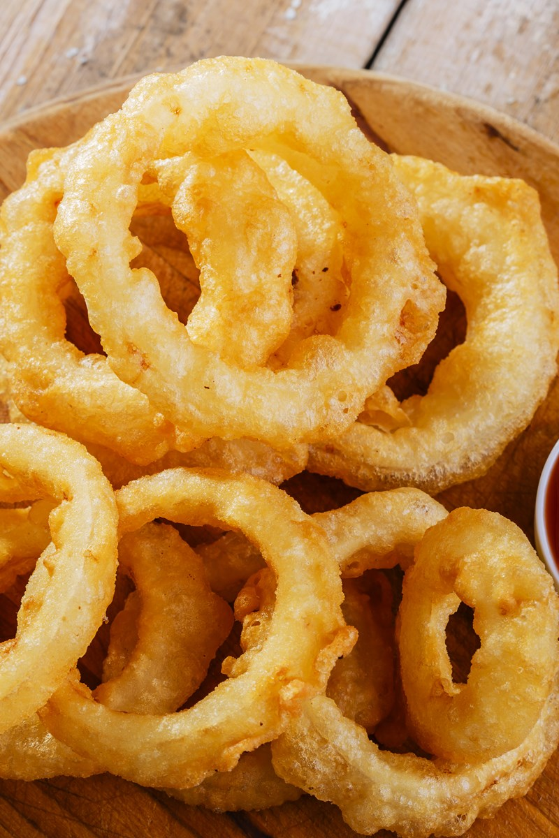 how to make onion ring batter with bisquick