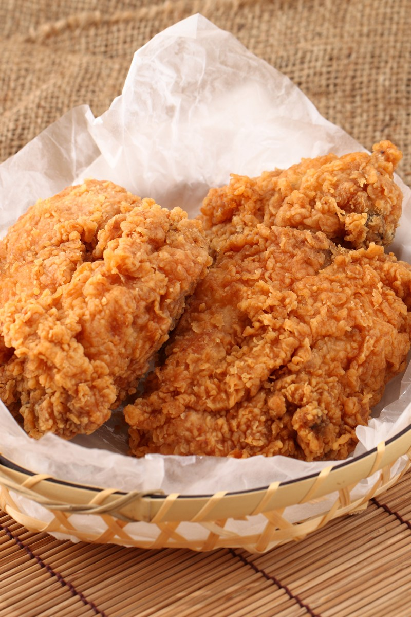 The recipe for fried chicken in a pan. Fried Chicken Recipe in the Oven 47