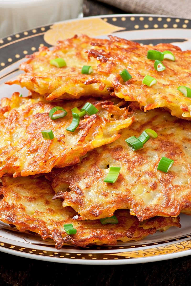 Crispy german potato pancakes kitchme ccuart Image collections