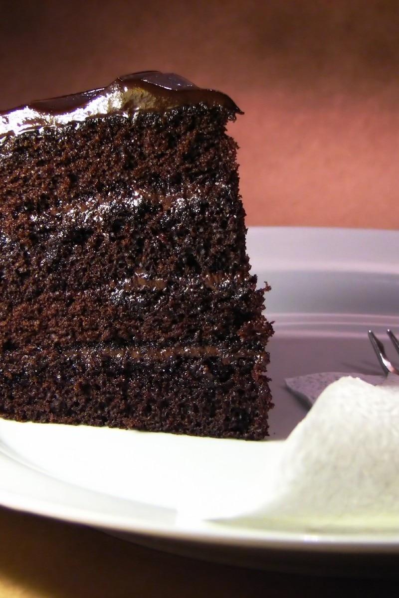 Dark Chocolate Cake Recipe   Dishmaps