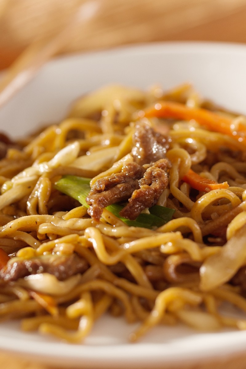 Asian Beef And Noodle 30
