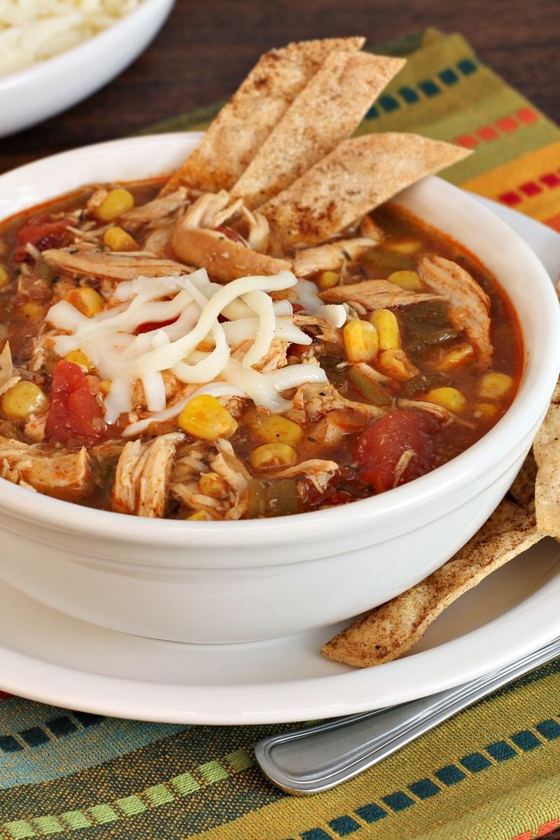 Recipe low calorie chicken tortilla soup