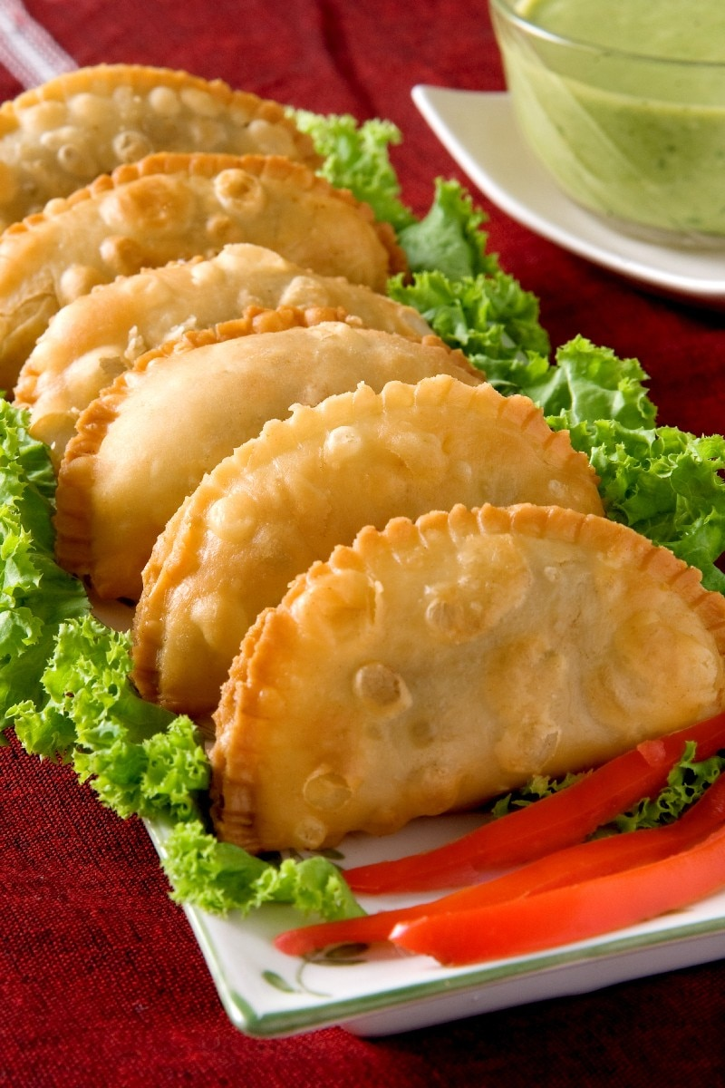 Easy crescent samosa indian style sandwiches kitchme forumfinder Image collections