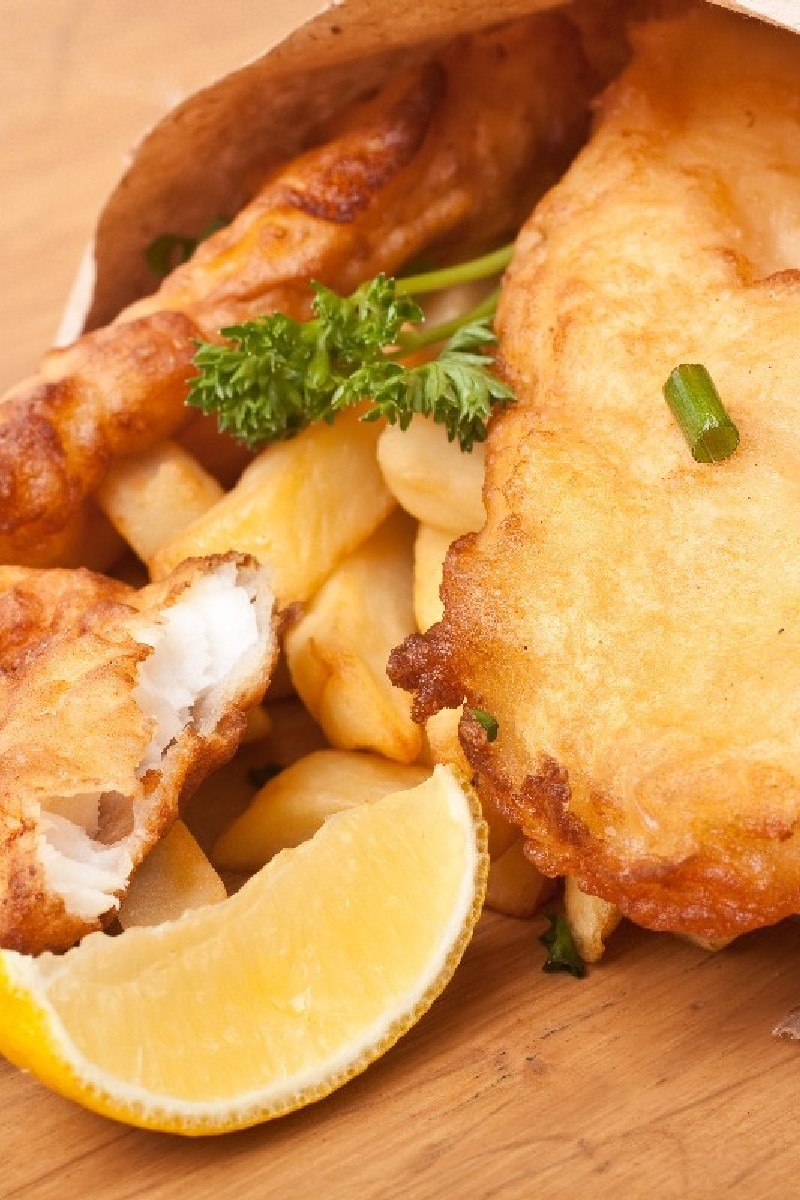 Fish and chips kitchme for Fish and chips recipe