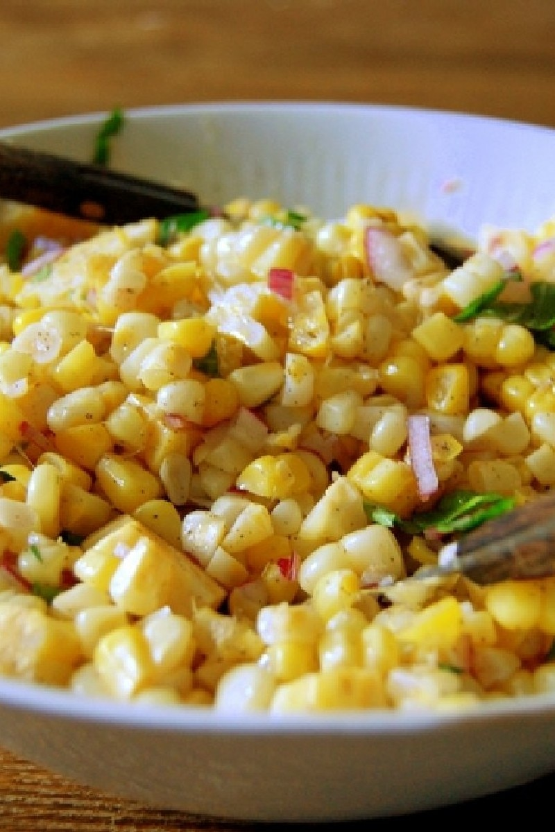 Fresh Corn Salad | KitchMe