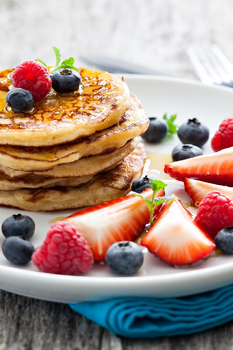 Good Old-Fashioned Pancakes | KitchMe