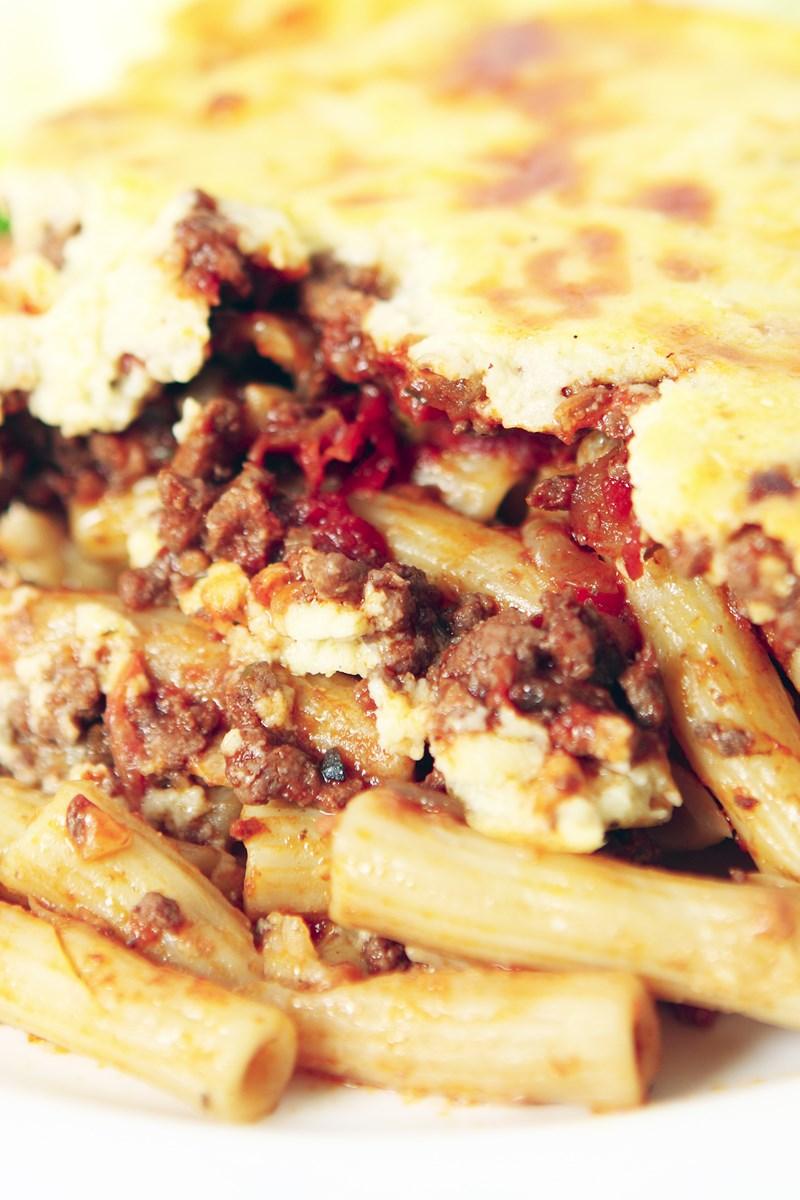 Greek-Style Pasta Bake (Pasticcio)