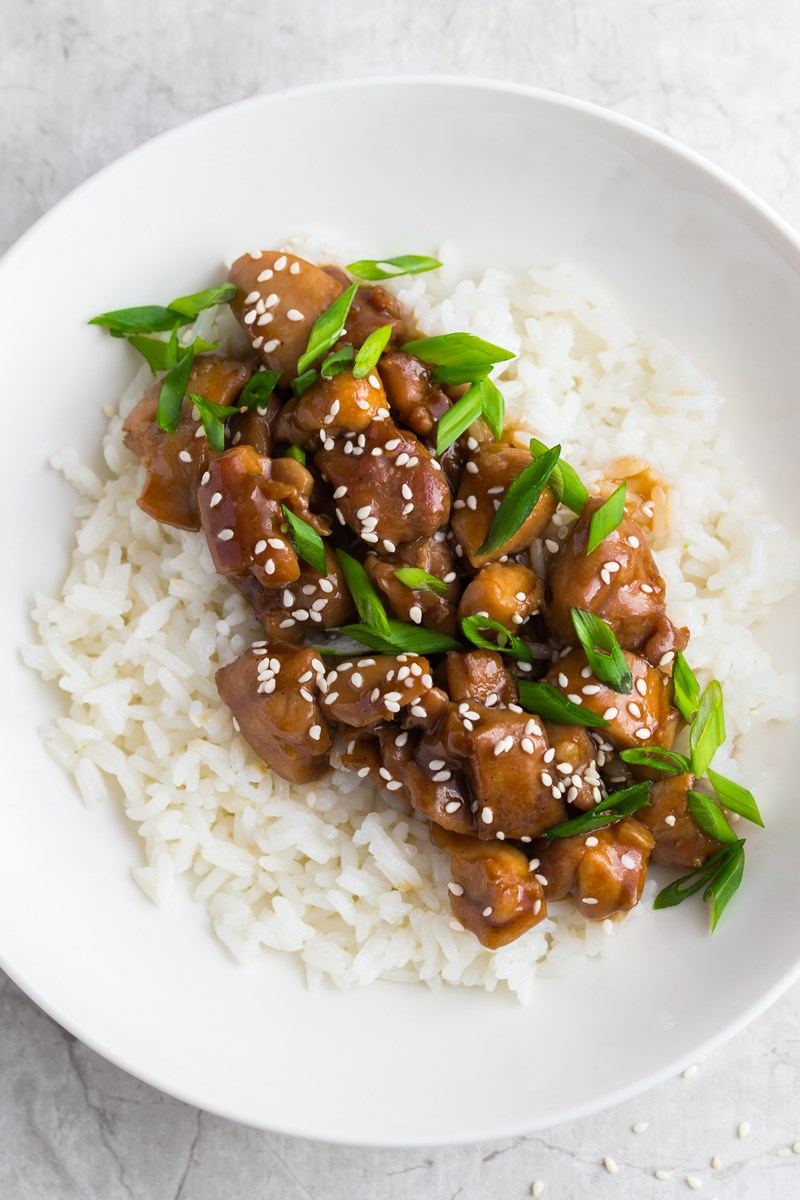 Instant Pot Teriyaki Chicken Kitchme