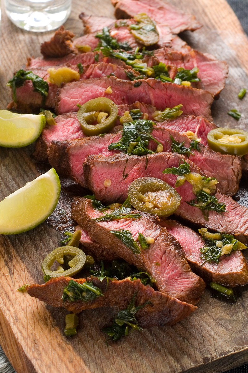 Jalapeno Steak Recipe — Dishmaps