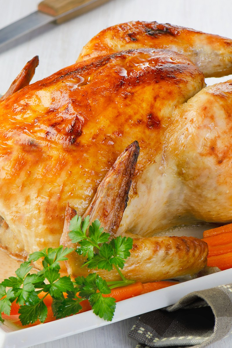 Juicy Roasted Chicken Kitchme