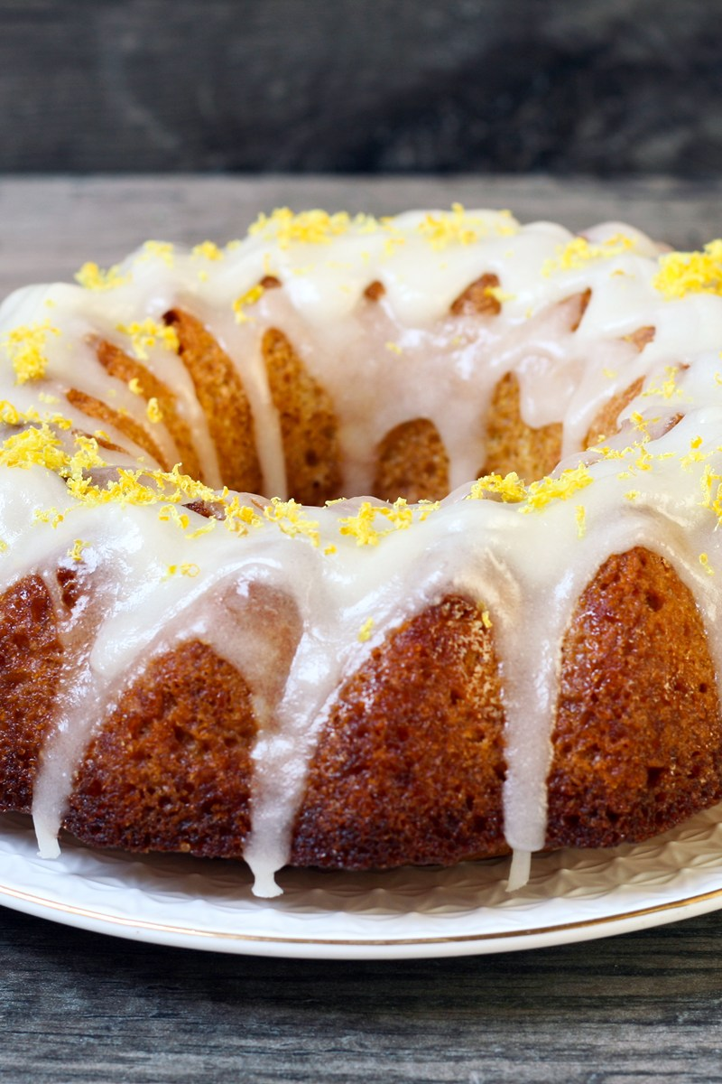 Lemon Bundt Cake Kitchme
