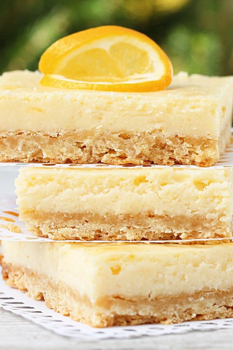 Limoncello Cheesecake Squares Kitchme