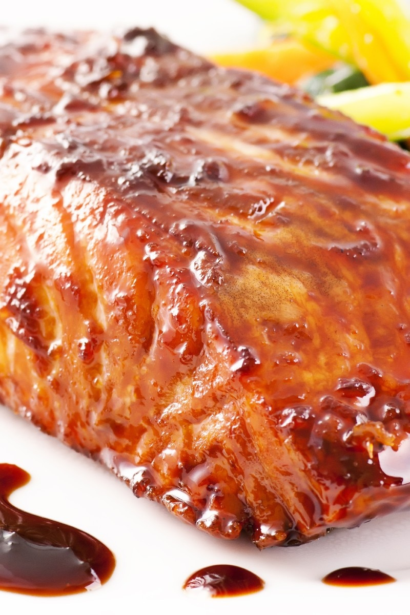 Maple Glazed Salmon | KitchMe
