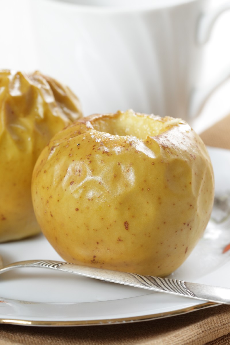 How to bake apples in the microwave - 4 step by step recipes 50