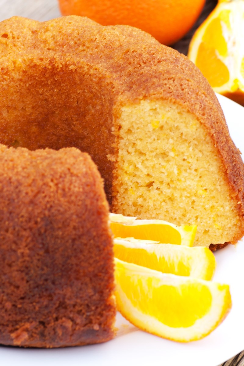 Moist Orange Bundt Cake Kitchme