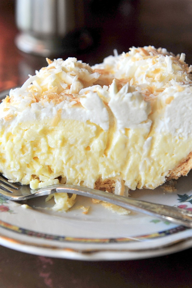 Old Fashioned Coconut Cream Pie Kitchme
