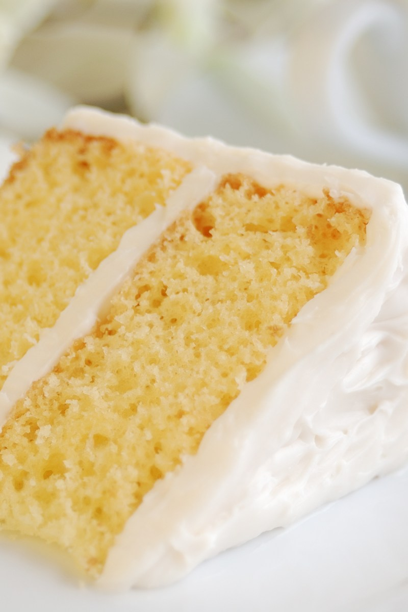 Old Fashioned Yellow Butter Cake Kitchme