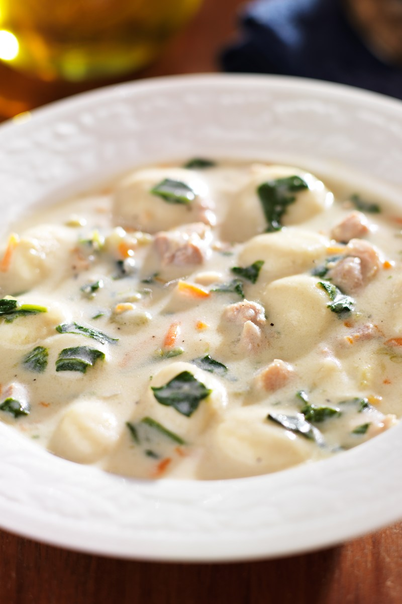 Olive Garden Chicken And Gnocchi Soup Copycat Kitchme