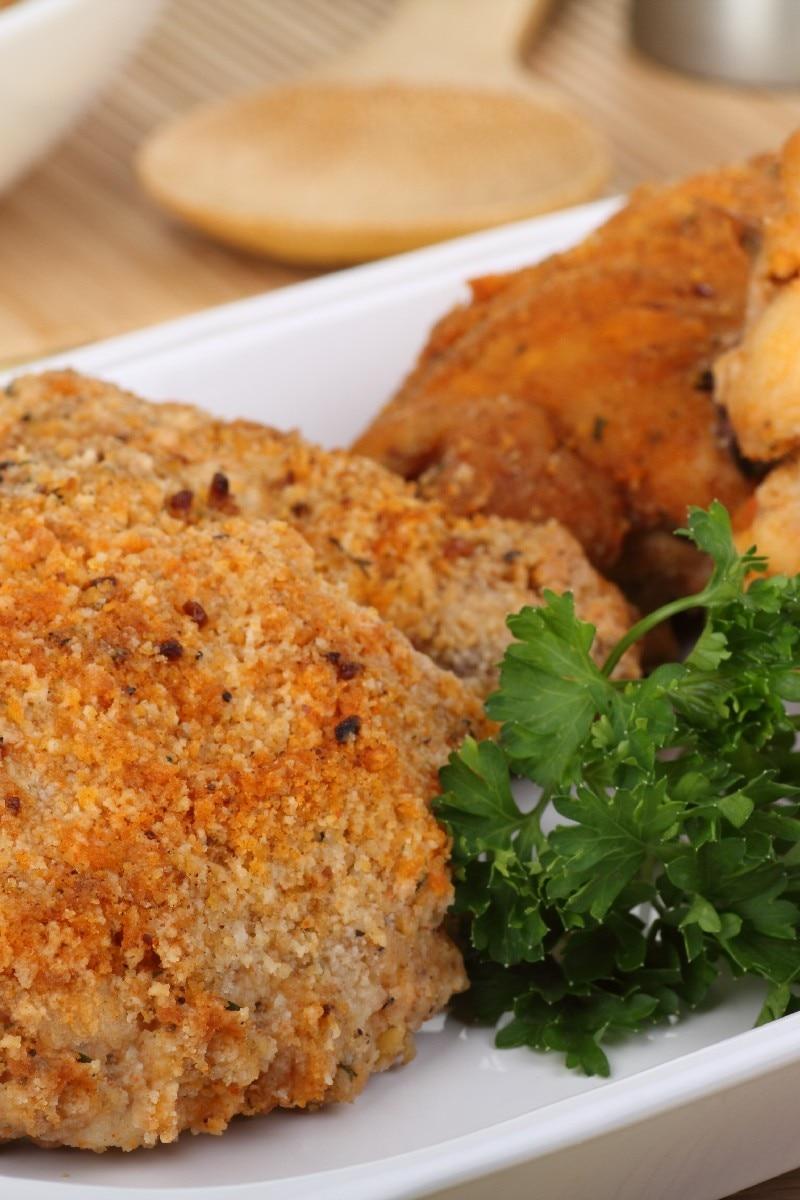 Orange Crumbed Baked Chicken Weight Watchers Kitchme