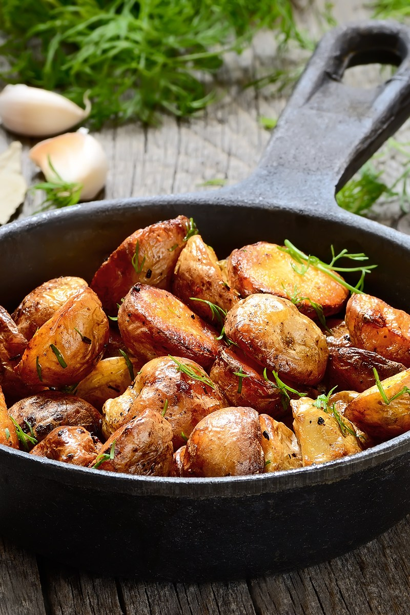 Oven Roasted Parmesan Garlic Potatoes Recipes — Dishmaps