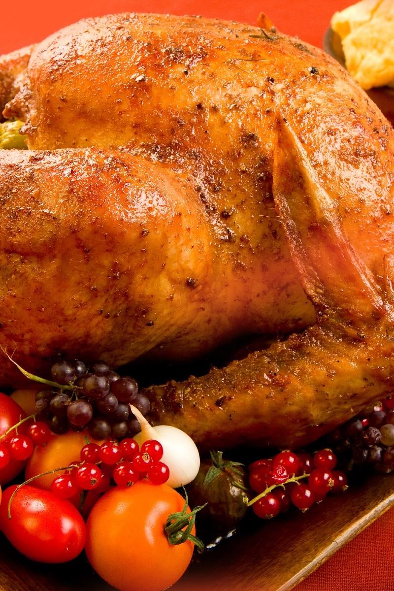 Oven Roasted Turkey With Sage Butter Kitchme