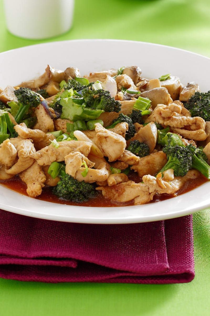 Pats Broccoli And Chicken Stir-Fry  Kitchme-8243