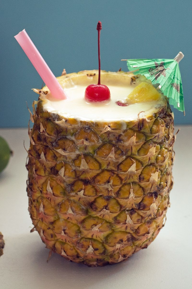 Pina Colada In A Pineapple Cup Kitchme