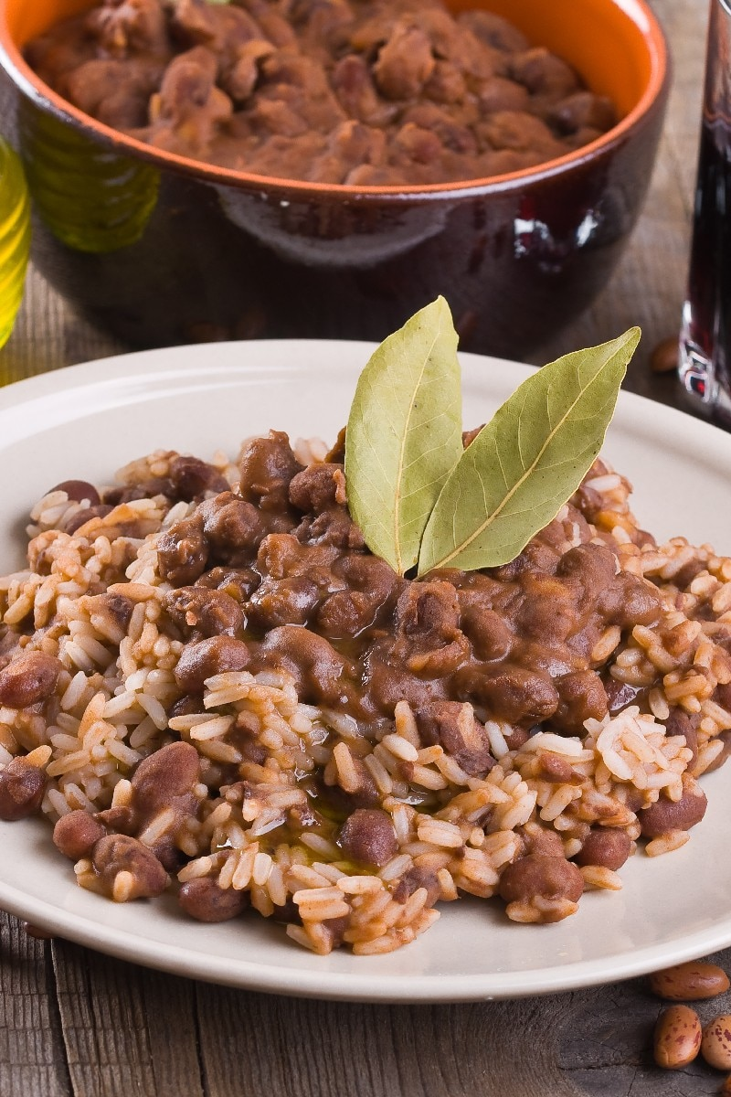 Pinto Beans And Rice In A Crock Pot Or On Stove Top Kitchme