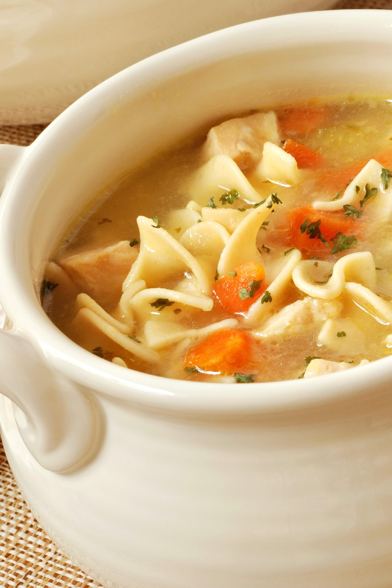 Quick and Easy Chicken Noodle Soup | KitchMe
