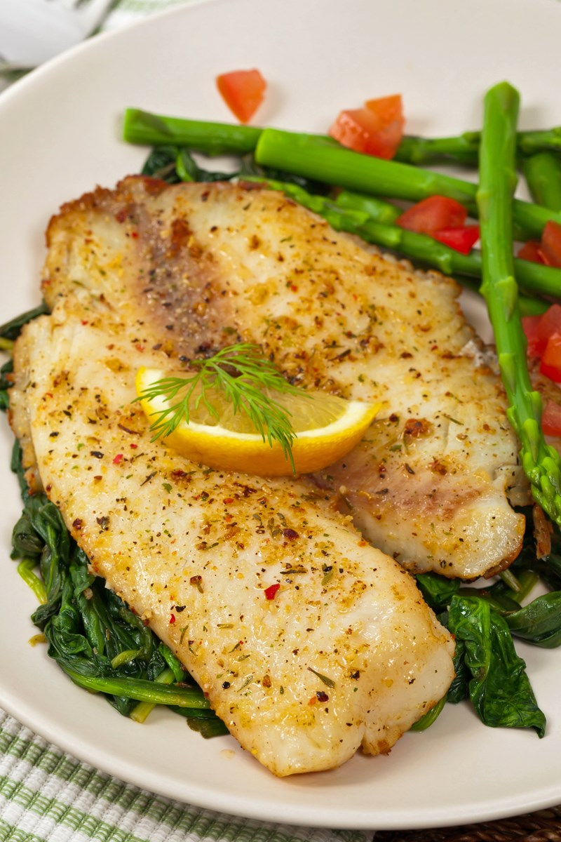 Quick pan seared tilapia kitchme for Fried tilapia fish