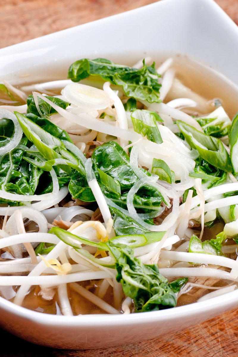 Quick Vietnamese Chicken Pho Noodle Soup